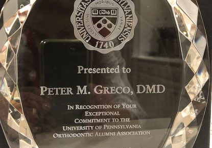 Dr. Peter Greco Award
